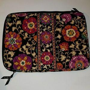 Vera Bradley Retired Suzani Large Laptop Sleeve